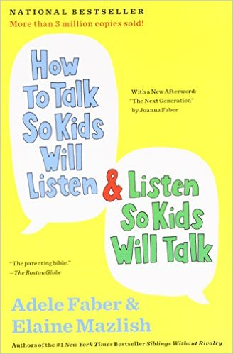 Kirjaesittely: How to talk so kids will listen and listen so kids will talk
